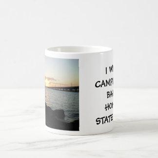 P3060038, I WENT CAMPING AT BAHIA HONDA STATE P... COFFEE MUG