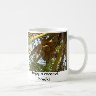 P3190843, Enjoy a coconut break! Coffee Mug