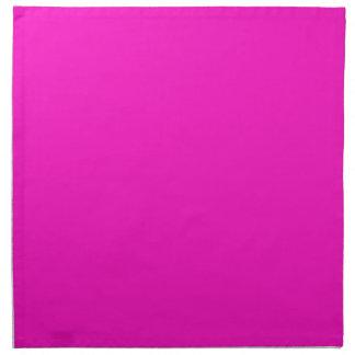P35 Stunningly Vivacious Pink Color Napkin