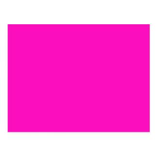 P35 Stunningly Vivacious Pink Color Postcard