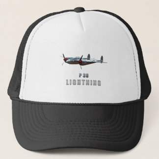 P38 Lightning Trucker Hat