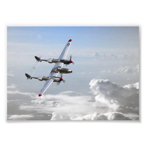 P38 Patrol Photo Print