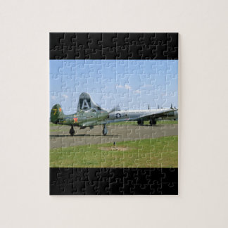 P39 Airacobra, B29, On Runway_WWII Planes Puzzle