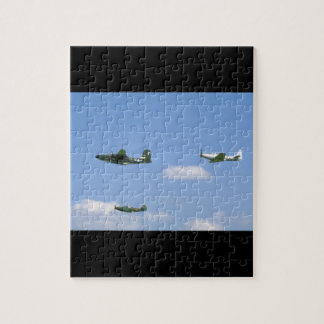 P39 Airacobra, P63 King Cobra, A20_WWII Planes Puzzles