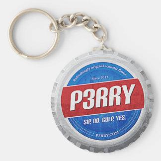 P3RRY Pop Cap Keychain