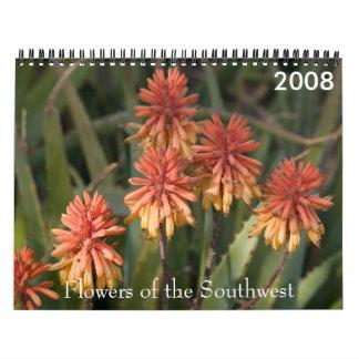 P4079331-LR-1, Flowers of the Southwest, 2008 Calendar