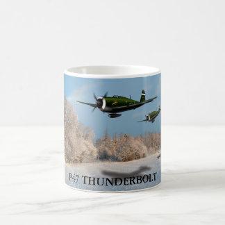 P47 THUNDERBOLT COFFEE MUG