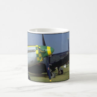 P51 Mustang Noses_WWII Planes Coffee Mug