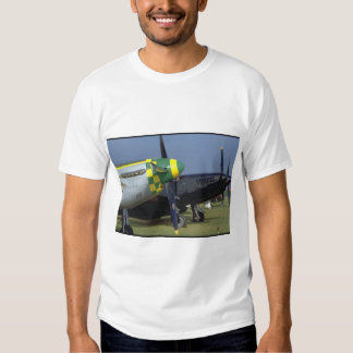 P51 Mustang Noses_WWII Planes T-shirts