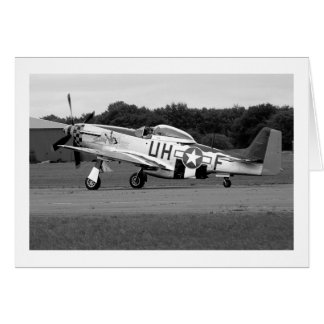 "P51 Mustang ""Sally"" X Card"
