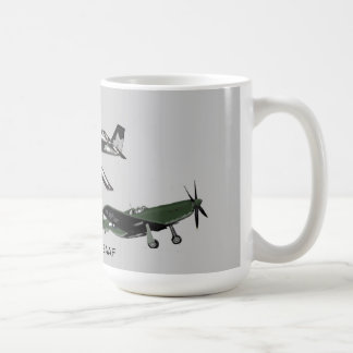 P51 Mustang US Fighter Mug