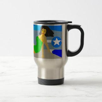 P51 Pinup Travel Mug