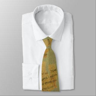 P52 Muted Tie