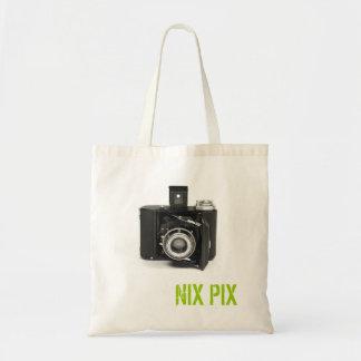 P60682 A, NIX PIX BUDGET TOTE BAG