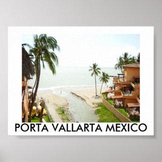 P8040059, PORTA VALLARTA MEXICO POSTER