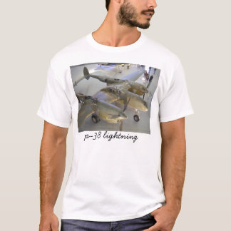 p-38 lightning top, p-38 lightning T-Shirt