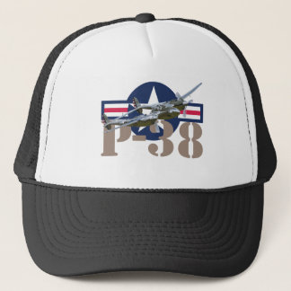 P-38 Lightning Trucker Hat