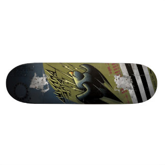 P-47 Thunderbolt Fighter Plane Nose Art Skateboard