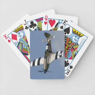 P-51 MUSTANG BICYCLE PLAYING CARDS