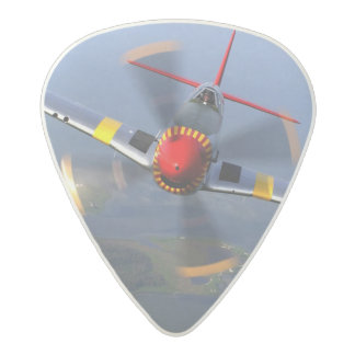 P-51 Mustang Fighter Aircraft Acetal Guitar Pick