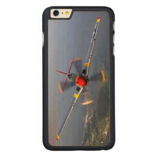 P-51 Mustang Fighter Aircraft Carved Maple iPhone 6 Plus Case