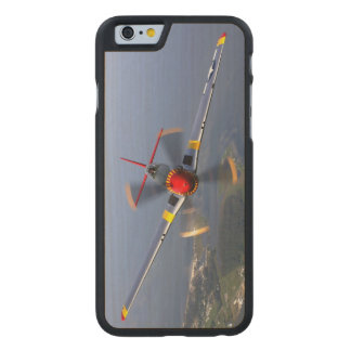 P-51 Mustang Fighter Aircraft Carved® Maple iPhone 6 Slim Case