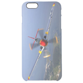 P-51 Mustang Fighter Aircraft Clear iPhone 6 Plus Case