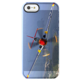P-51 Mustang Fighter Aircraft Clear iPhone SE/5/5s Case