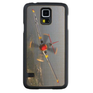 P-51 Mustang Fighter Aircraft Maple Galaxy S5 Slim Case