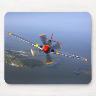 P-51 Mustang Fighter Aircraft Mouse Pad