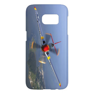P-51 Mustang Fighter Aircraft Samsung Galaxy S7 Case