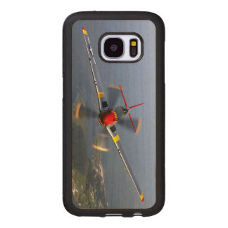 P-51 Mustang Fighter Aircraft Wood Samsung Galaxy S7 Case