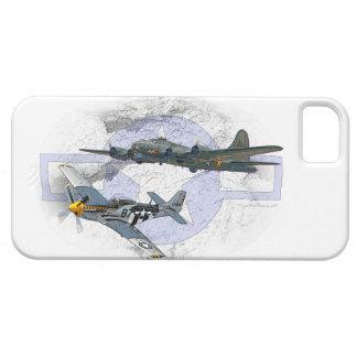P-51 Mustang flying escort iPhone 5 Case