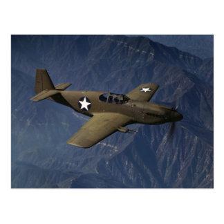 P-51 Mustang in Flight, 1942 Postcard
