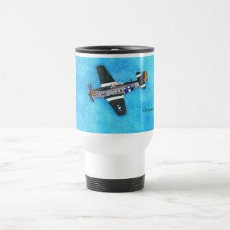 P-51 Mustang Travel Mug