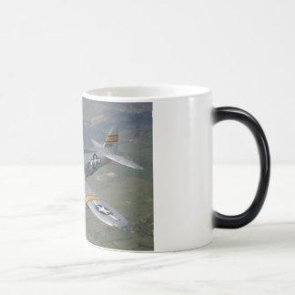 p-51 plane mugs