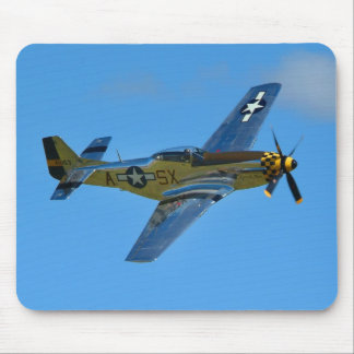 P-51D Mustage-1 Mouse Pad