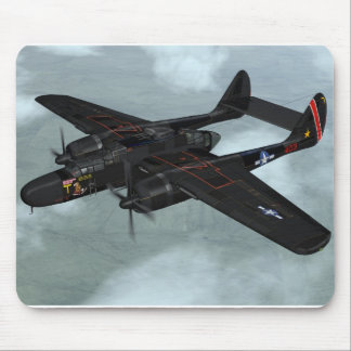 P-61 Black Widow Mouse Pad