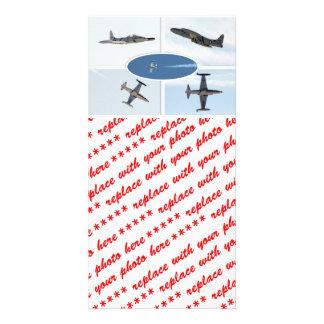 P-80 ensemble d'avion de l'étoile filante 5 modèle pour photocarte
