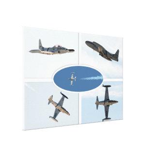 P-80 ensemble d'avion de l'étoile filante 5 toile tendue