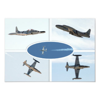 P-80 Shooting Star 5 Plane Set Card
