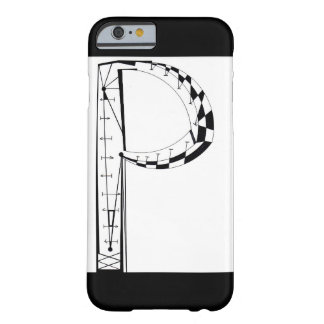"""P"" BARELY THERE iPhone 6 CASE"