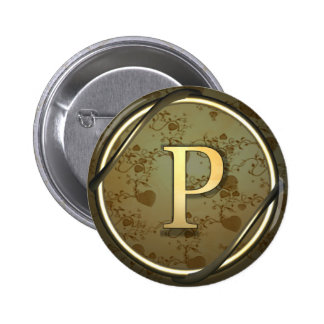 p pinback buttons
