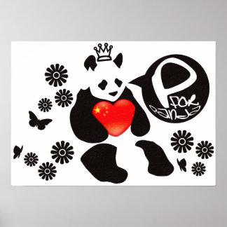 P for Panda Poster