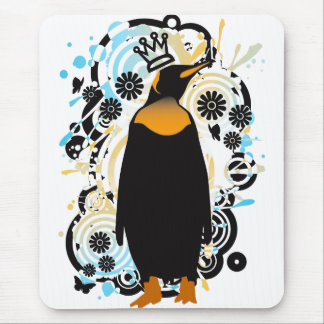 P for Penguin Mouse Pad