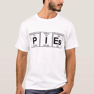 P-I-Es (pies) - Full T-Shirt