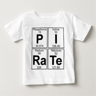 P-I-Ra-Te (pirate) - Full Baby T-Shirt