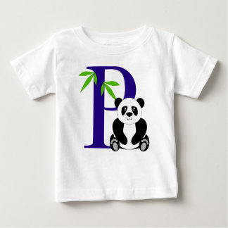 P is for Panda Baby T-Shirt