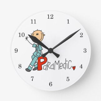 P is for Paramedic Clocks