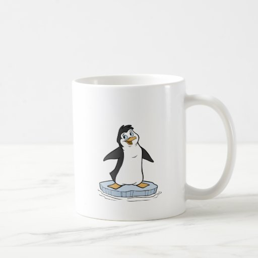 P is for Penguin Coffee Mugs
